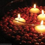 candles-floating-in-a-bowl-of-cranberries (red delicious re-purposed)