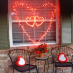 Light string heart (Red delicious re-purposed)
